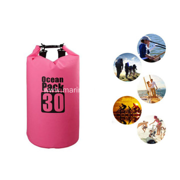Popular Durable 30L PVC Waterproof Dry Bag With Valve