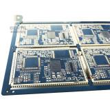 """BentePCB Multilayer PCB 6 Layers PCB FR4 Tg170 ENIG 2u"""" Impedance Control Half Hole"""