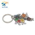 Neues Entwurfs-heißes verkaufendes kundenspezifisches förderndes Logo-Marken-Gewohnheits-Metall Keychain
