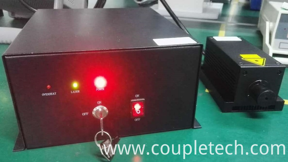 MP passively q switched laser
