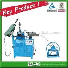 Corrugated spiral post -tension pipe forming machine