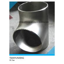 Tige en acier inoxydable soudé à l'extrémité égale ASTM égale