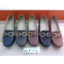 Sapatos Comfort Lady com sola plana TPR (SNL-10-021)