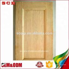 Puertas de gabinete de cocina de roble blanco de Vietnam