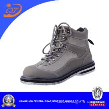 Vente en gros de feutre doublure pêche Wade chaussures 16800