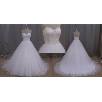 Top China fabricante de vestido de noiva bonito