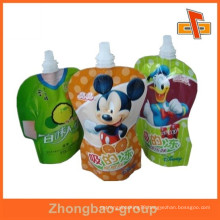 New Hot!!stand up spout pouch exellent print liquid drink pouch with spout packaging of beverage