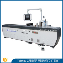 Adaptability Zxnc40-1200 Plc Control High Efficieautomaticy C Busbar Machine With Puautomatiching Moulds