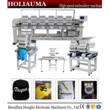 Holiauma fábrica China cabeza de alta velocidad 2 precio de la máquina bordado del casquillo bordado Tubular máquina Ho1502n