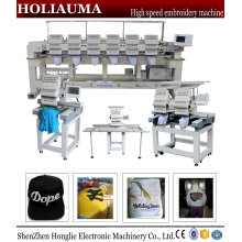 China Holiauma Factory Embroidery Machine Price High Speed 2 Head Cap Tubular Embroidery Machine Ho1502n