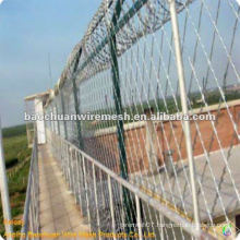 BTO-30 zinc coated prison guardrail net