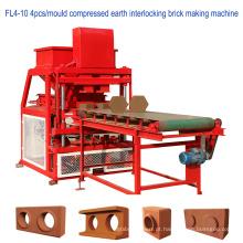 Máquina de bloco de interbloqueio de terra comprimido hidráulica automática cheia (CEB)
