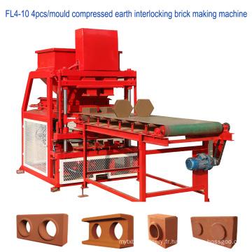 Bloc de verrouillage de terre comprimé de haute qualité faisant la machine pour la construction
