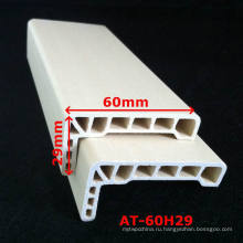 WPC Architrave PVC Architrave для дверной рамы WPC Ламинированный архитрав на -60х29