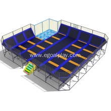 Indoor Trampoline with Safety Net