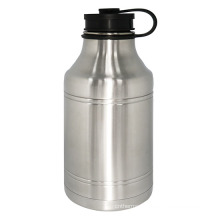 Stainless Steel Vacuum Growler Bottle 1920ml