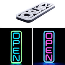 20 '' RGB Vertical Multi Color Led Open Sign