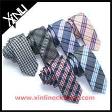 New Checkered Design Silk Tie