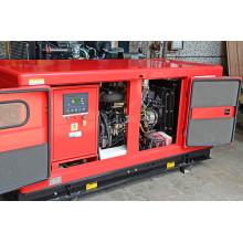 Guandong 31.3kVA / 25kw de refrigeración de agua AC 3 fases Isuzu motor Diesel generador a prueba de sonido