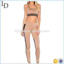 Nova chegada personalizado desgaste da aptidão esporte sutiã top e legging yoga wear personalizado desgaste da aptidão