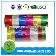 Reflective colored lace tape for decoration