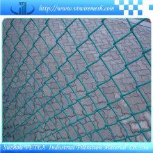 Malla de enlace de cadena utilizada en la fábrica
