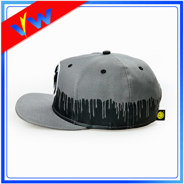 Custom Cotton Applique Logo Snapback Cap