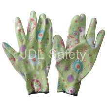Polyester Knitted Work Glove with Nitrile Dipping N1561-3)