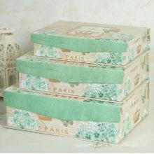 Cajas de regalo de embalaje impreso personalizado con cierre de solapa de imán