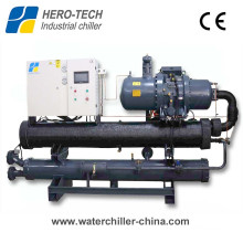 100ton/Tr Screw Type Water Cooled Industrial Chiller for HVAC