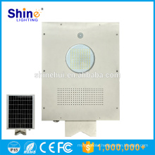 Aluminum Led Solar Street Light Price , All In One 12W Street Light