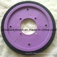 Nylon or Bristle Material Textile Round Brush (YY-252)