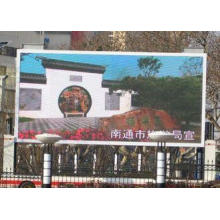 Commercial Led Advertising Board Displays P10 10mm DIP346 W