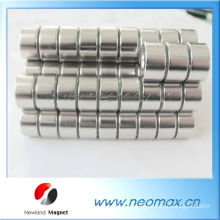 Small strong permanent round magnet