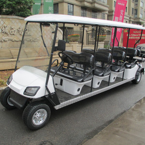 Cheap golf sightseeing bus and many colors