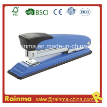 Grapadora azul con 24/6 y 26/6 grapas hechas en la grapadora de China