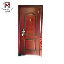 China venda quente preço barato moderno simples porta de entrada de ferro
