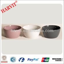 Maceta de cerámica china de la maceta fijada / jardín miniatura de la jardinera de cerámica blanca de Polonia /