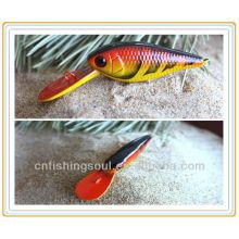MNL024 9 CM, 6G, Fischköder Minnow Kunststoff Paket Fischköder Orange Fischköder