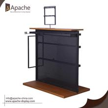 100% Original for Shopping Mall Counter Display,Shopping Mall Display Stand,Shopping Mall Display Shelf Manufacturers and Suppliers in China Multi-Functional Metal Display Rack for Boutique export to Honduras Exporter