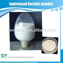 Alimentation en usine Meilleure poudre de keratine hydrolysée
