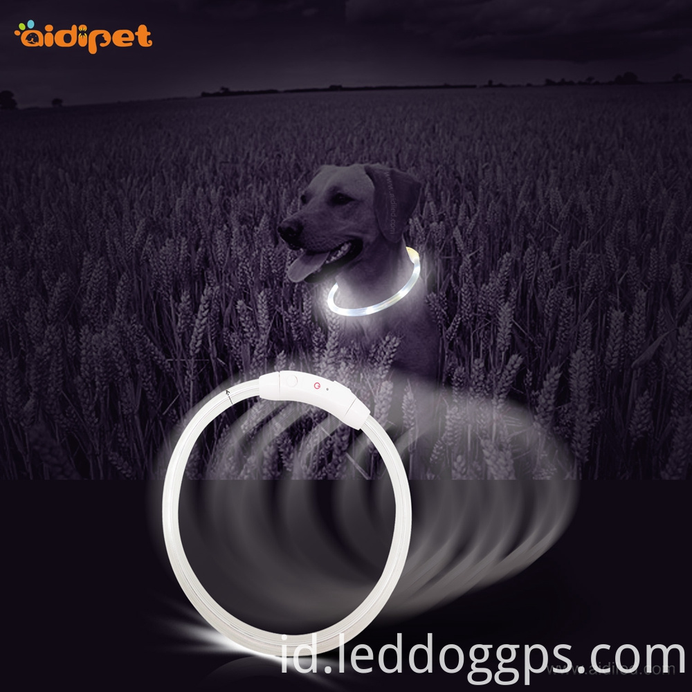 Glow In Dark Led Dog Collar