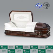 Castelo de LUXES Duque caixão América caixões de madeira clássico & caixões