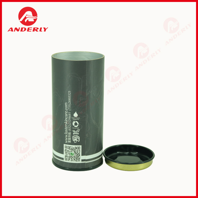 Custom Food Grade Packaging Tea Composite Can
