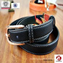 2015 new design lady's black belts