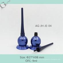AG-JH-JE-04 AGPM cosméticos, embalagem de plástico personalizado esvaziem OFC 9ml Design especial Irregular delineador líquido garrafa