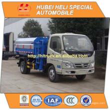 FOTON 4x2 4M3 kleiner hängender Eimer Müllwagen 98hp heißer Verkauf für Export