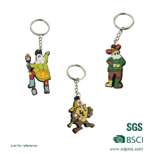 2016 Customized Silicone Keychain for Promotional