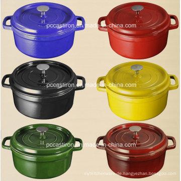 Enamel Gusseisen Kochgeschirr Hersteller aus China.