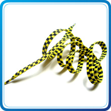 Wholesale Printed Logo Shoelace with Metal Clip